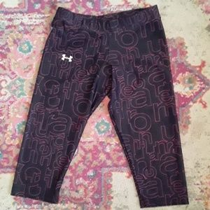 Under Armour Heat Gear Cropped Leggings